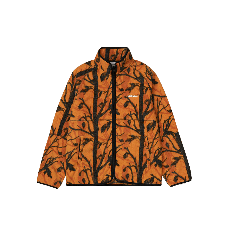 Beaufort Jacket - Camo/Orange
