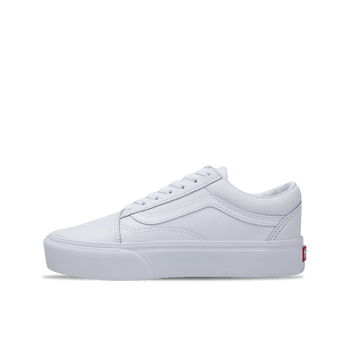 Old Skool Platform - White/White