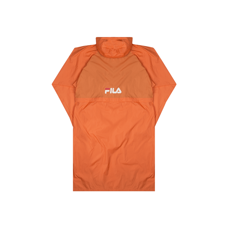 Divine Long Anorak - Orange