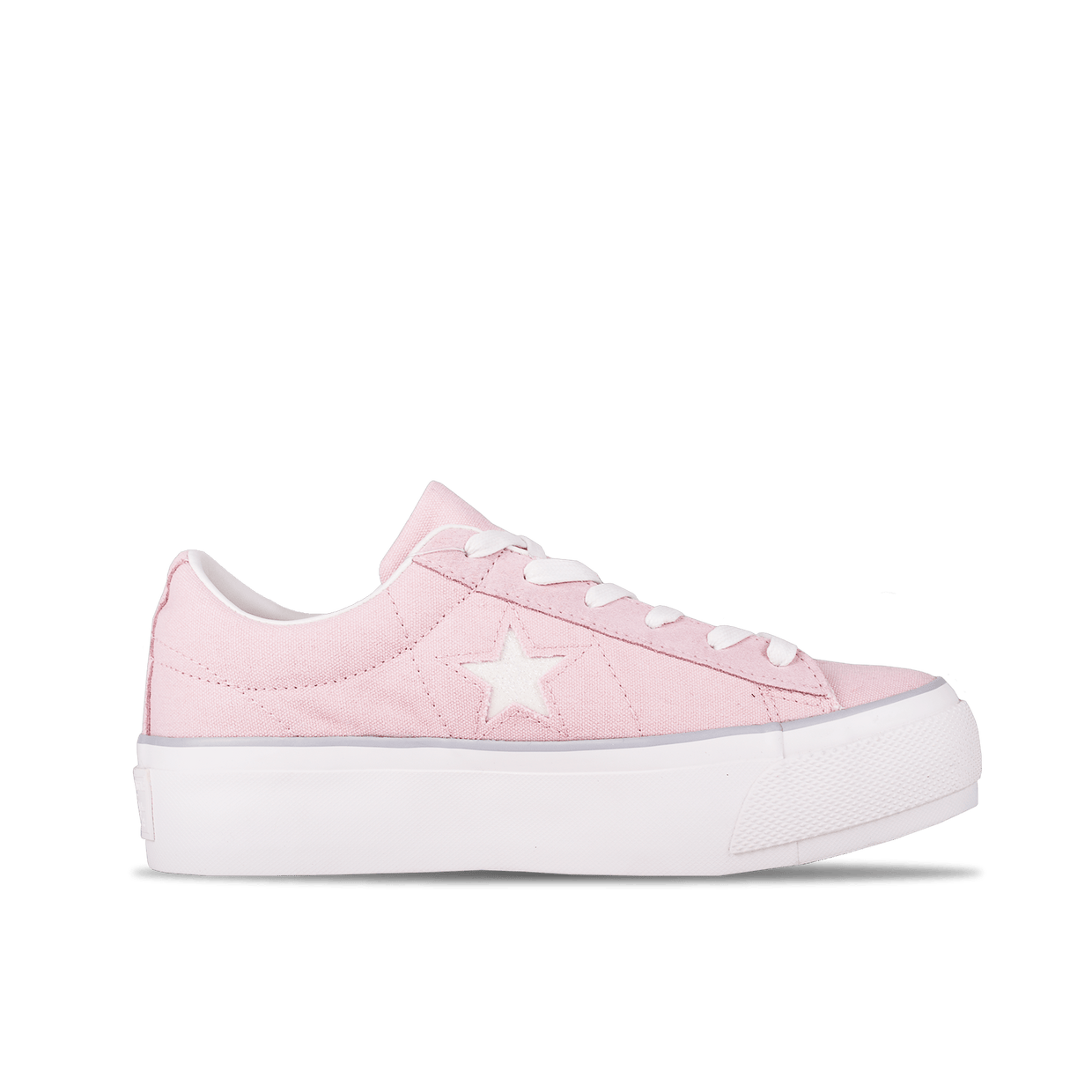 One Star Platform OX - Pink/White