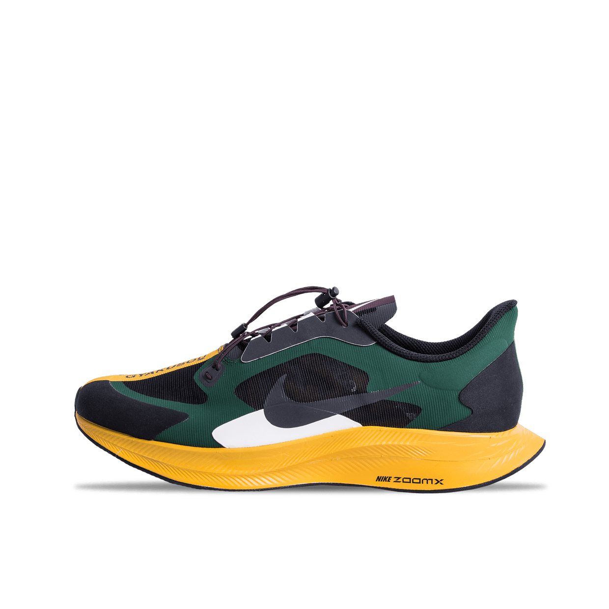 Zoom Pegasus 35 Turbo Gyakusou - Black/ Gold/Green/Burgundy