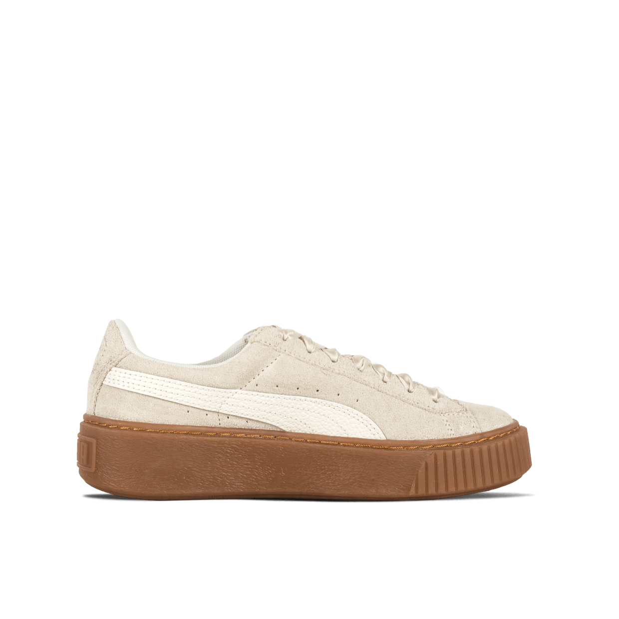 Suede Platform Bubble Wn's - Marshmallow