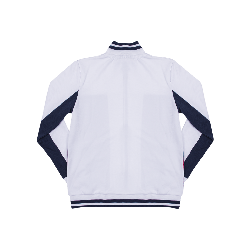 Tiebreaker Track Jacket - Blue/White