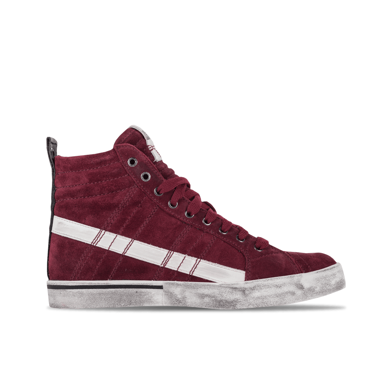 D-Velows Mid Lace - Bordeaux/White