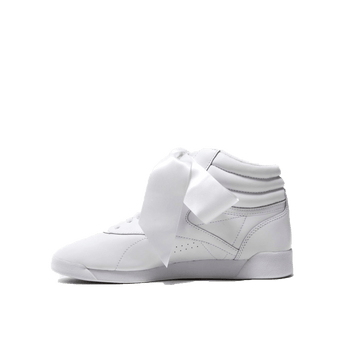 F/S Hi Satin Bow Women - White