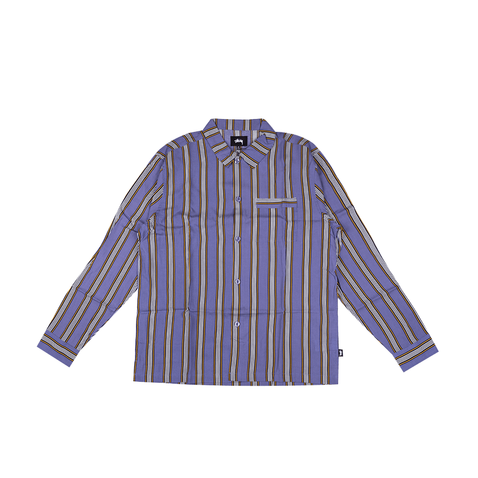 Cove Striped LS Shirt - Lavender