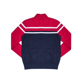 Track Jacket - Red/Blue/White