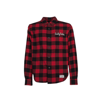 Block Check Shirt - Red