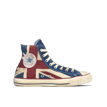 CT Side Zip Hi - UK Flag