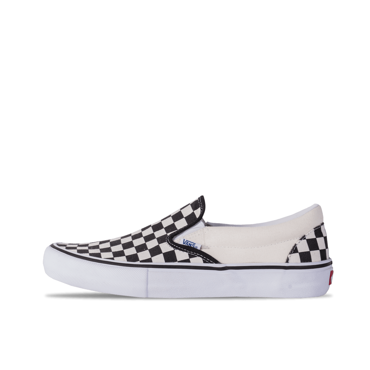 Slip-On Pro - Black/White Checker