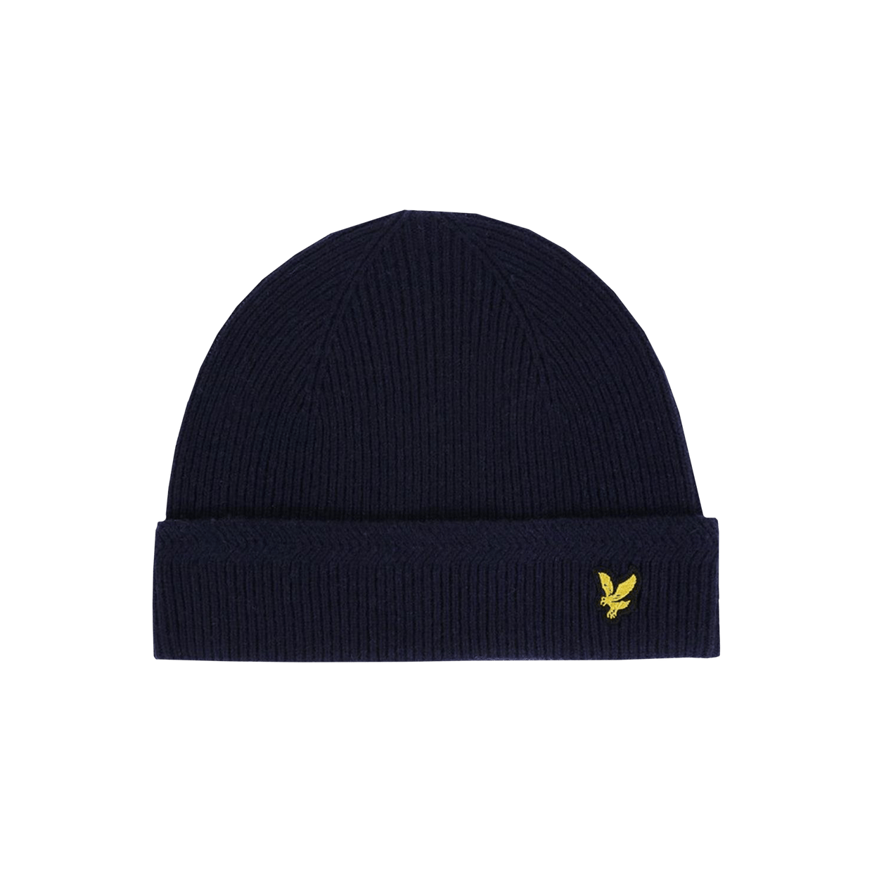 Racked rib Beanie - Blue Navy