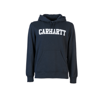 Hooded College Sweat - Black