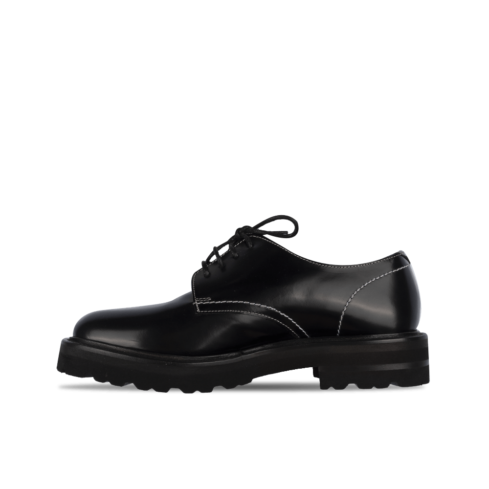 Lace Up Classic Shoe -Black