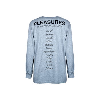Long Sleeved Tee - Grey