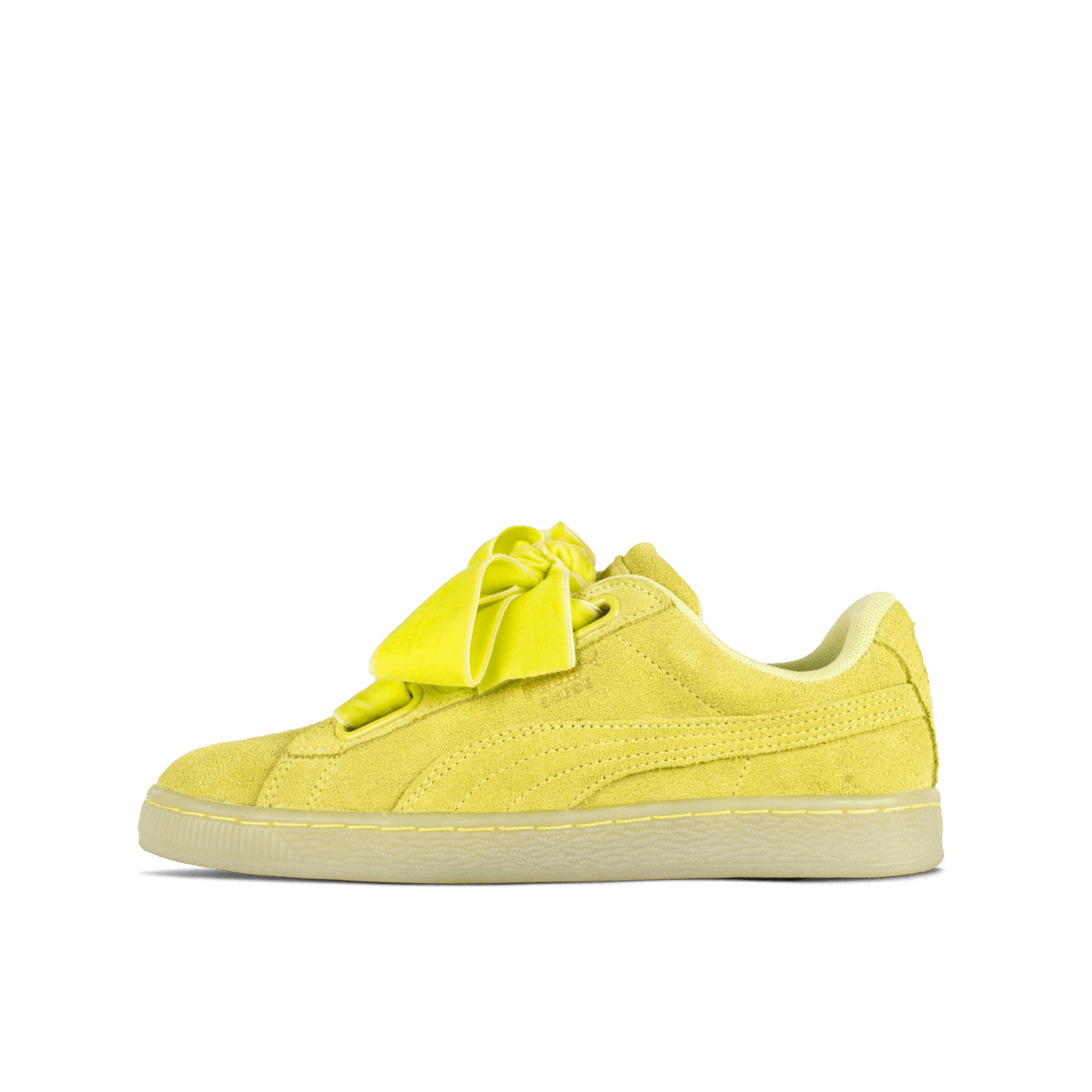 Suede Heart RESET Wn's Soft Fluo Yellow
