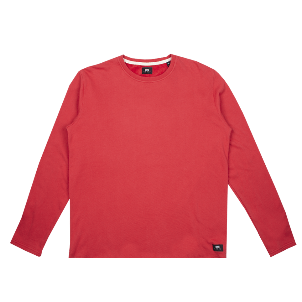 Terry TS LS - Washed Red