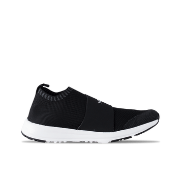 Women's Cadman Moc Knit - Black/White
