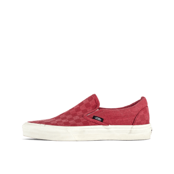 Classic Slip-On - Tango Red/Checker