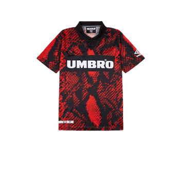 Umbro x HOH Snake Collared - Red
