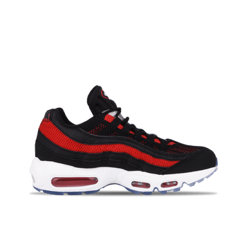 Air Max 95 Essential - Black/White-University Red