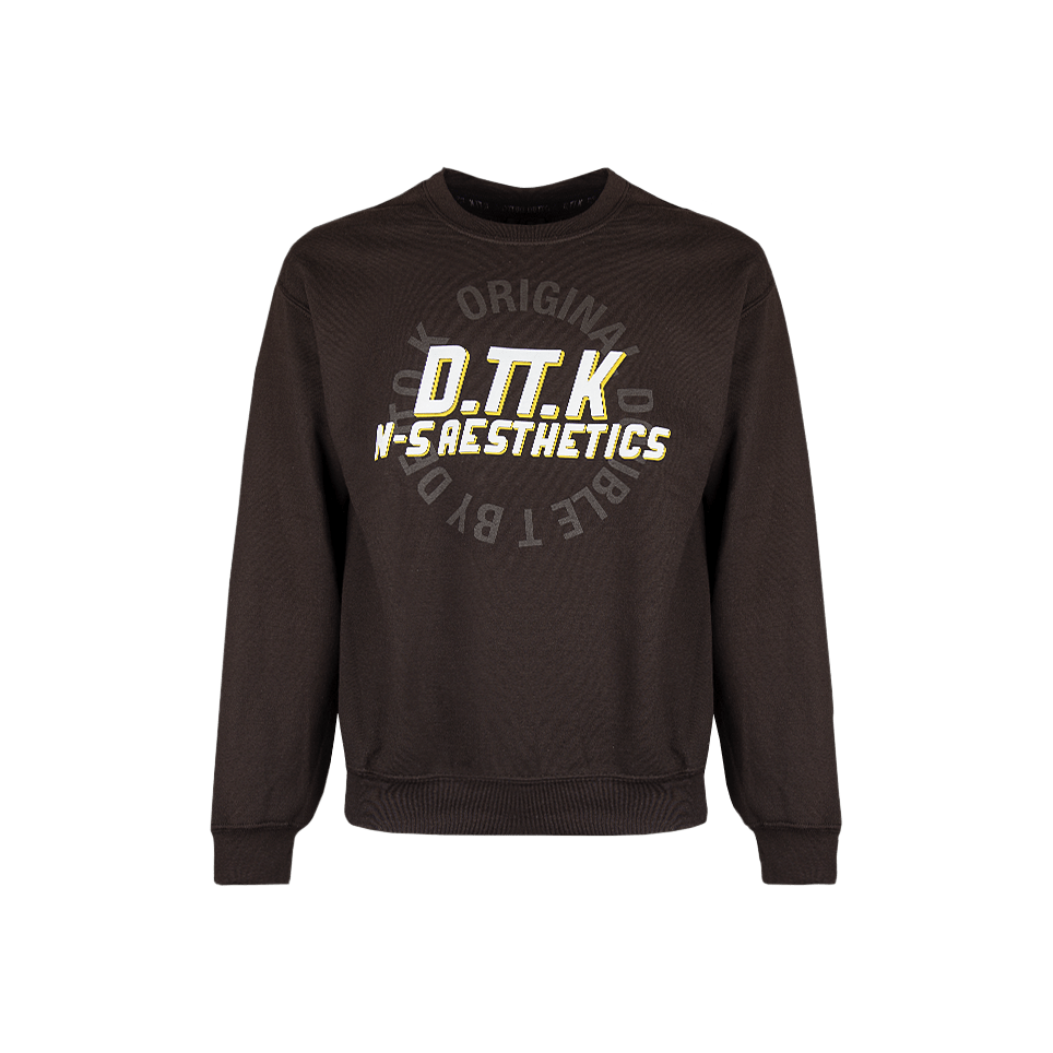 Slide Logo Sweatshirt - Brown