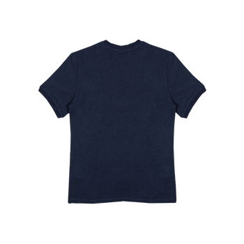 Dribble Tee - Blue Denim