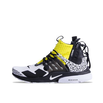 Acronym x Air Presto - Black/Dynamic Yellow