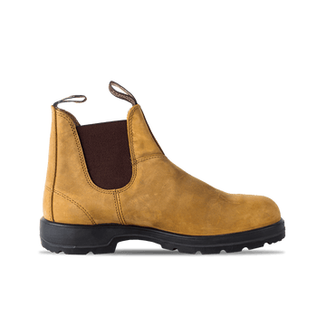 Elastic Sided Boot - Light Brown
