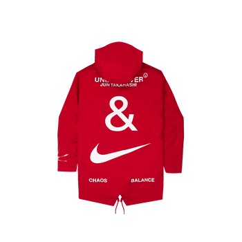 Undercover X Nike NRG Tc Parka Fish Tail - Red