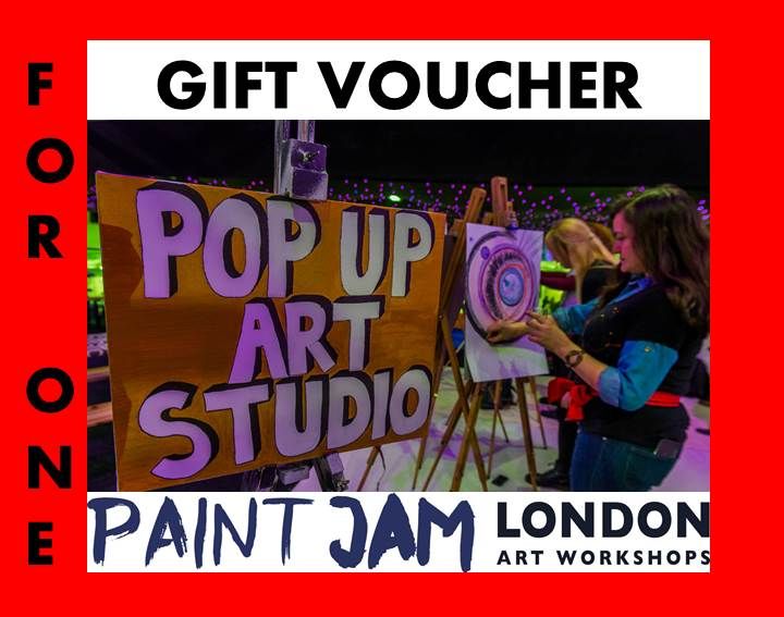 GIFT VOUCHER FOR 1 - PAINT JAM LONDON