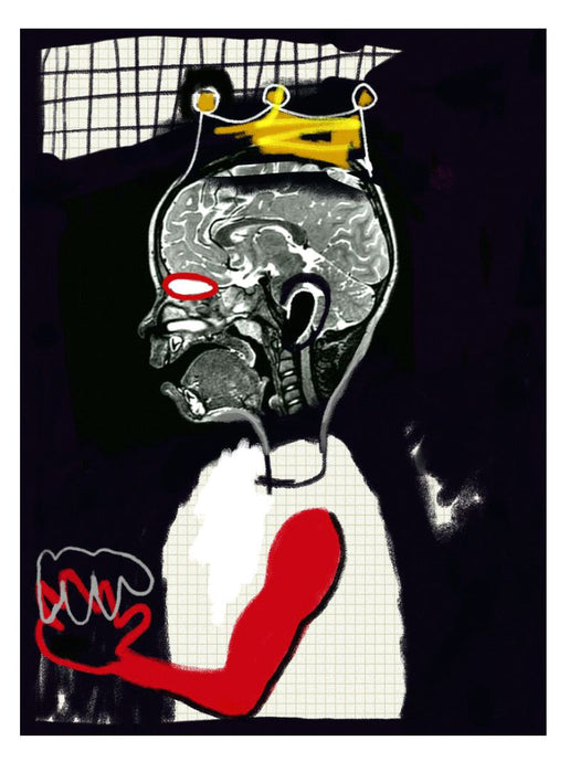 The story of the ghetto boy who would become king - art print, Eugene Ankomah