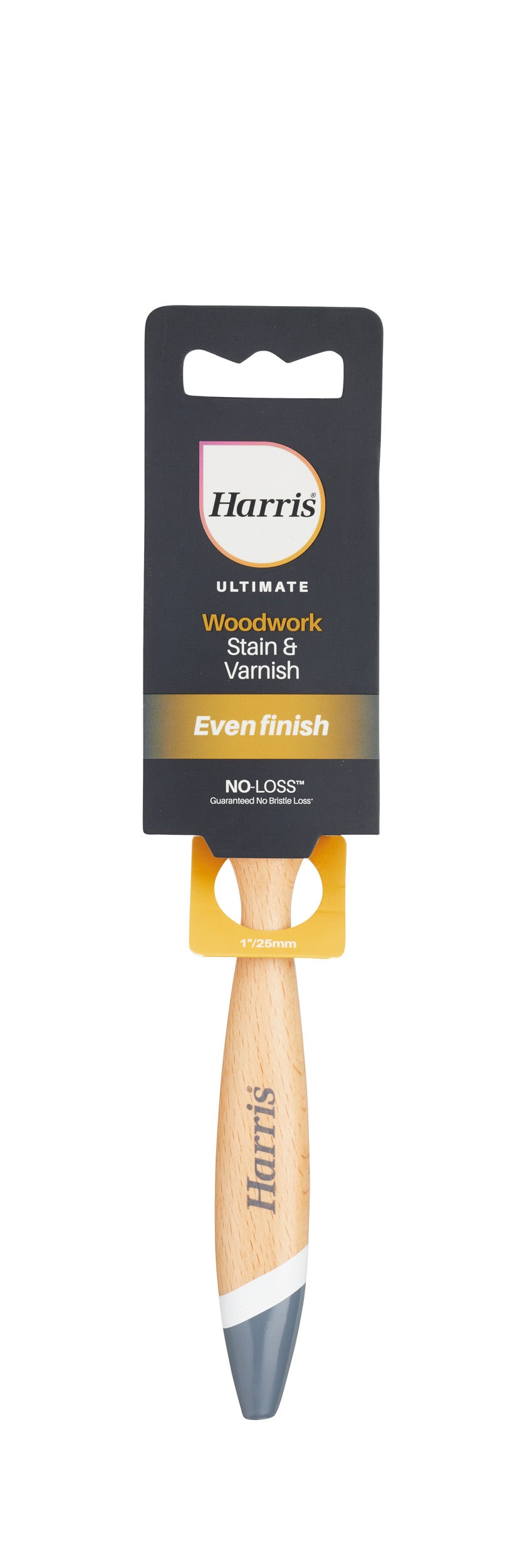 "1"" / 25mm Harris Ultimate Woodwork Stain & Varnish Brush"