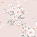 Catherine Lansfield traditional blush pink floral wallpaper