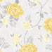 Darcy James Rosalind Grey and Yellow Floral Wallpaper