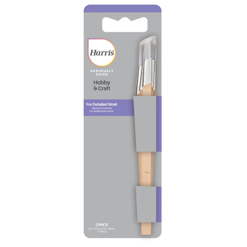 3 Pack Harris Seriously Good Fitch Brush Set