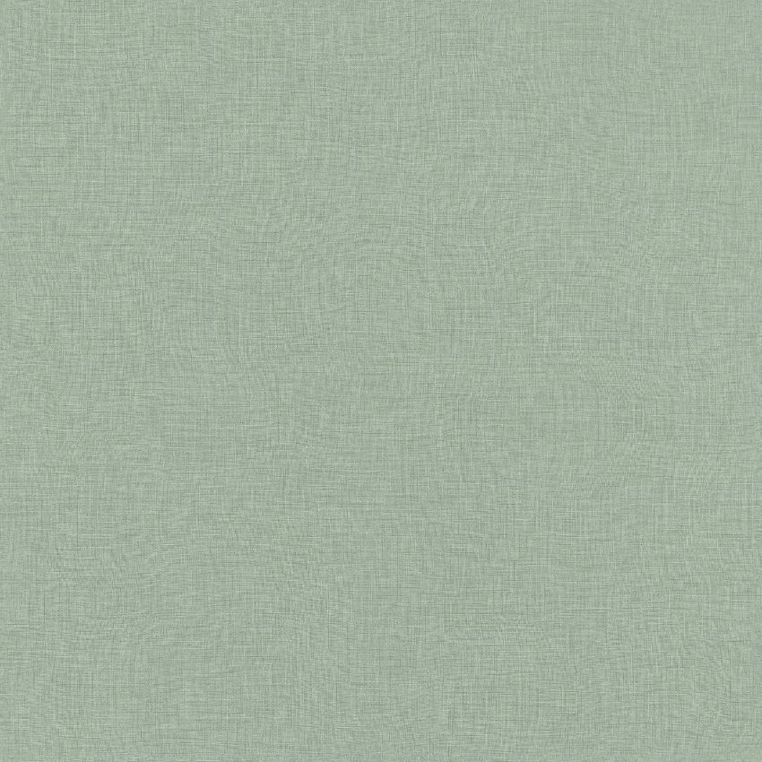 Mint sage green plain fabric texture effect wallpaper