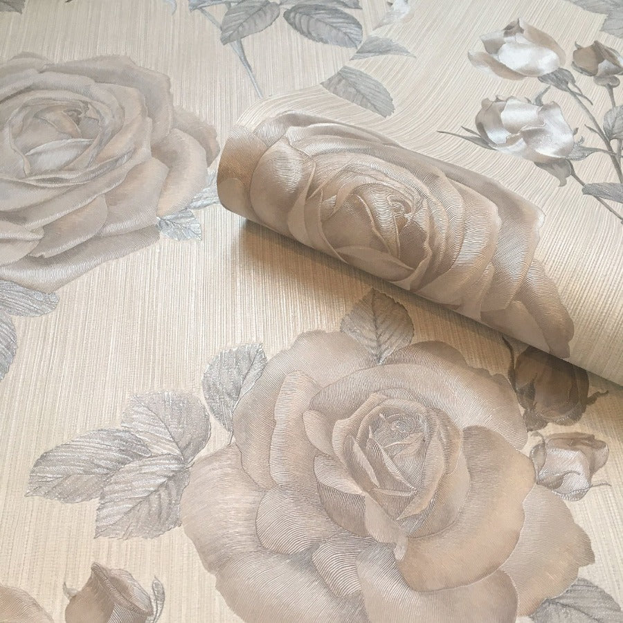 Amara Natural Rose Wallpaper