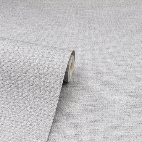 Arthouse calico plain grey texture wallpaper