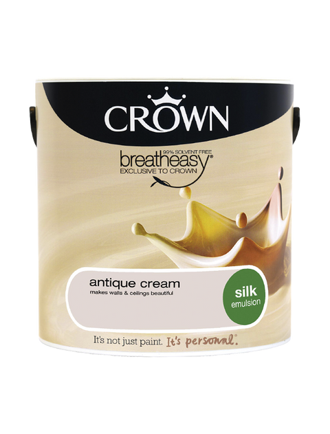 2.5L Crown Silk Emulsion - Antique Cream