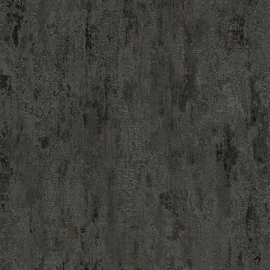 Black industrial texture wallpaper with metallic shimmer effect