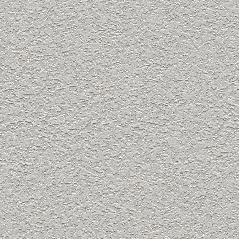 Paintable grey stipple blown vinyl wallpaper