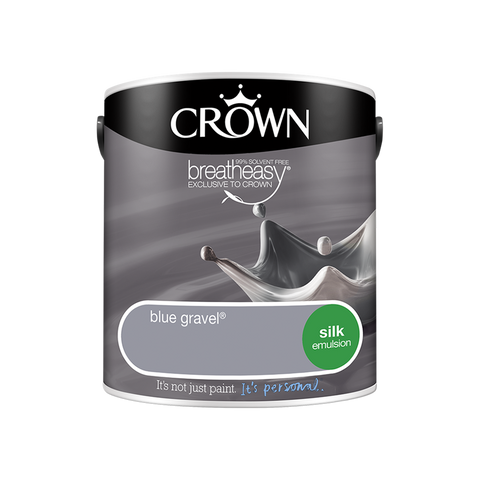2.5L Crown Silk Emulsion - Blue Gravel
