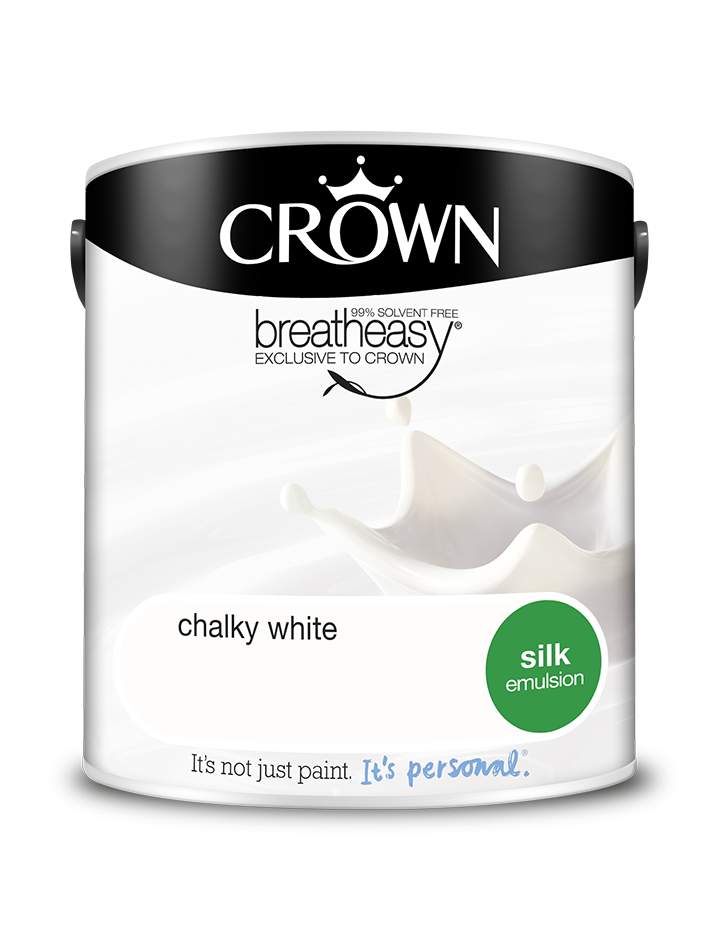2.5L Crown Silk Emulsion - Chalky White