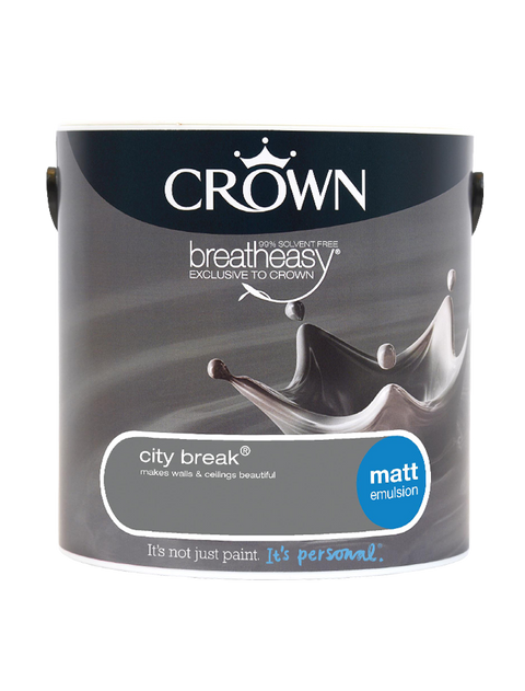 2.5L Crown Matt Emulsion - City Break