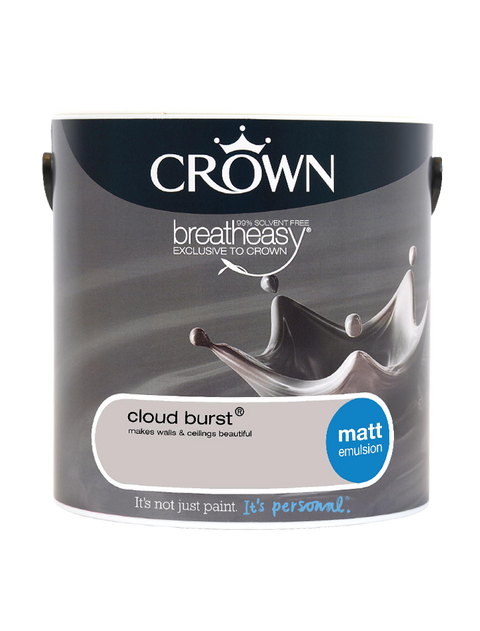 2.5L Crown Matt Emulsion - Cloud Burst
