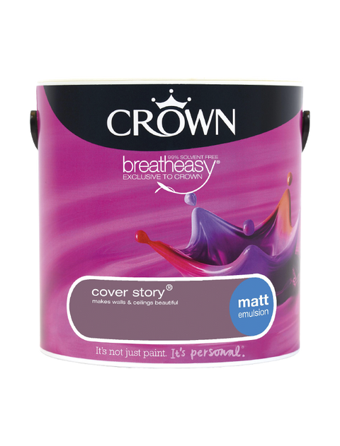 2.5L Crown Matt Emulsion - Cover Story