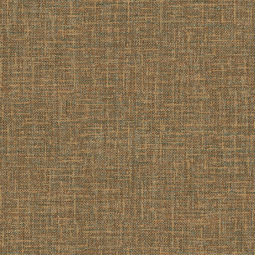 Embellish rustic brown and gold woven weave texture wallpaper