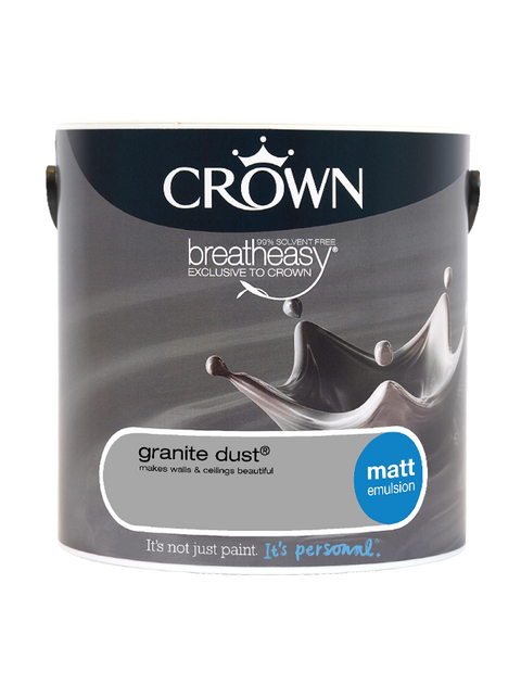 2.5L Crown Matt Emulsion - Granite Dust