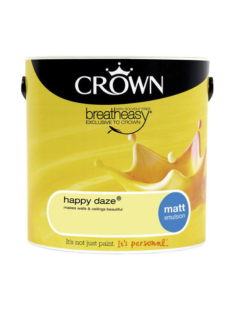 2.5L Crown Matt Emulsion - Happy Daze