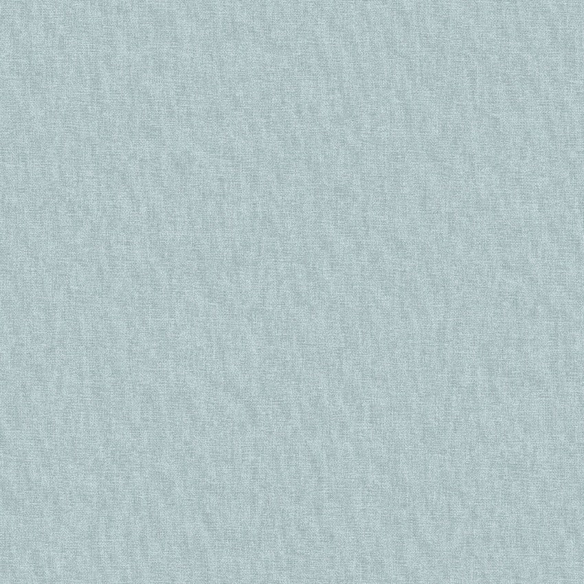 Jungle fever duck egg blue fabric texture plain wallpaper